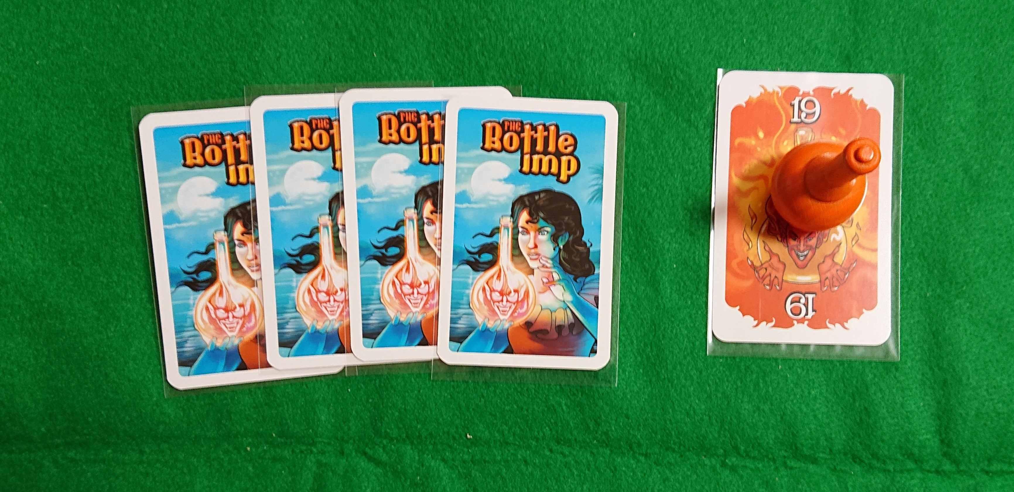 ボトルインプ トリックテイク系カードゲーム ボトルを誰かに押し付ける?! ボードゲーム ルール説明