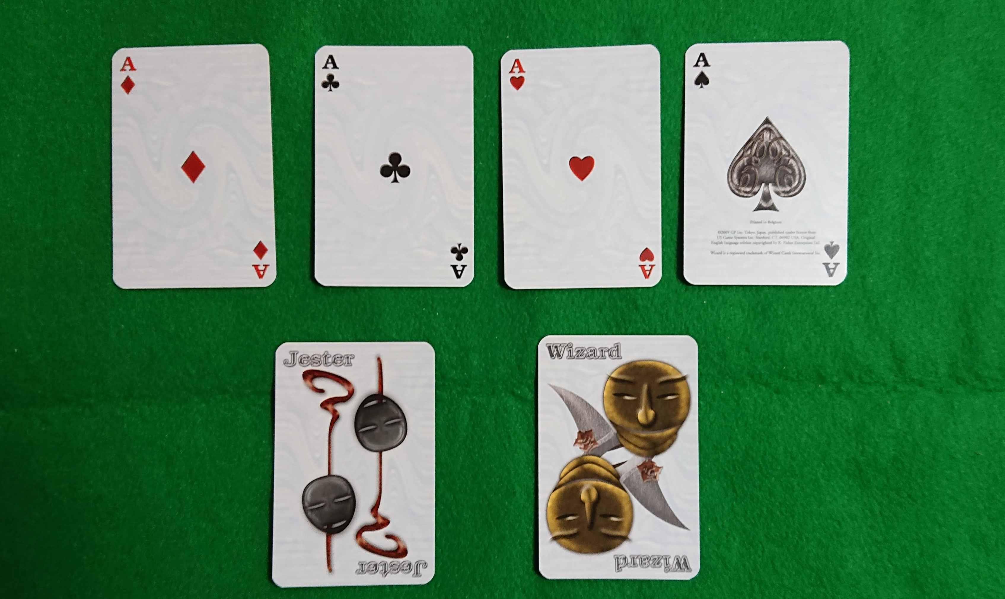 ウィザード(Wizard)カードゲーム トリックテイクの基本を学ぶ ボードゲーム ルール説明