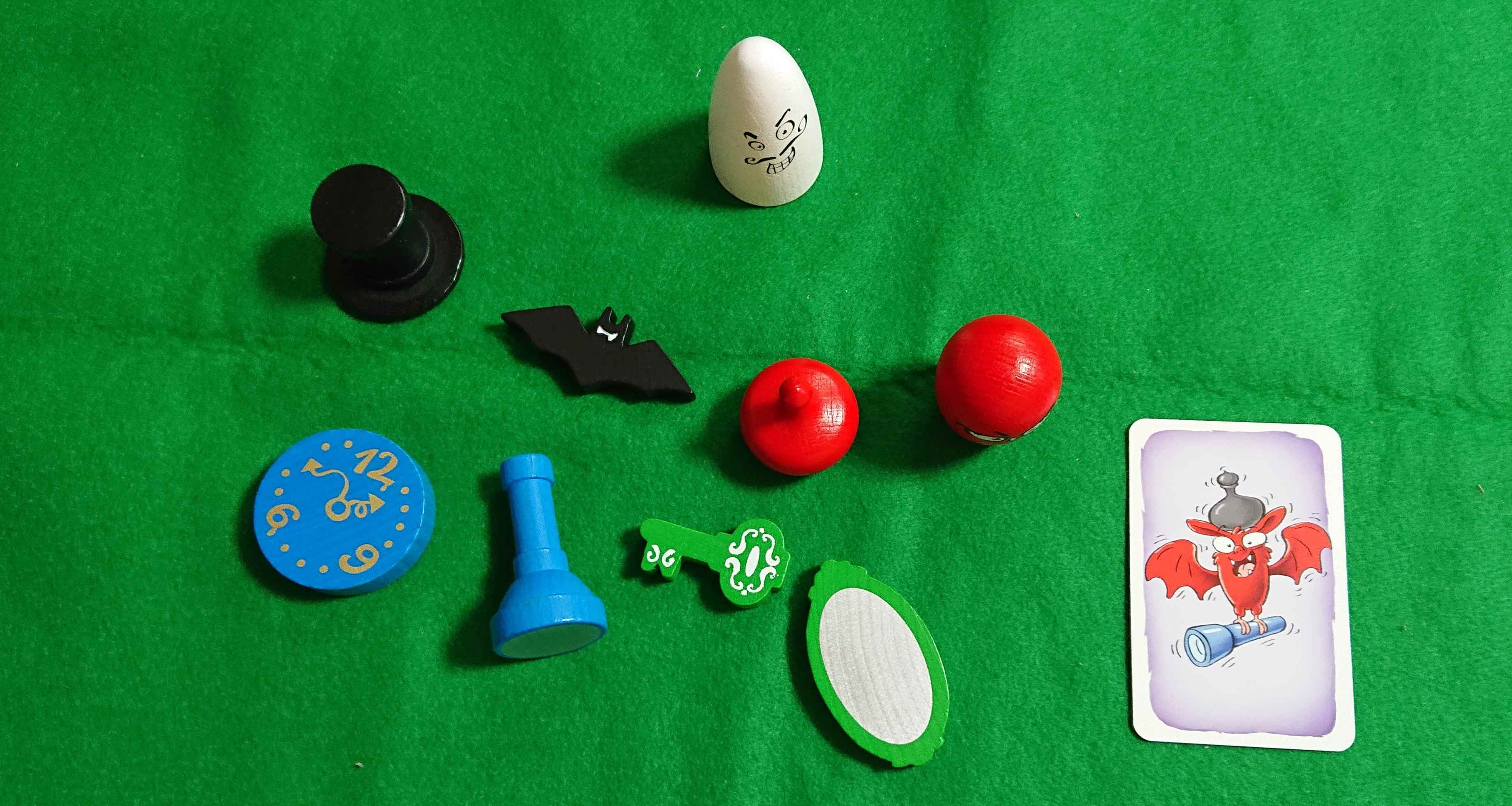 おばけキャッチ名人技 反射神経型のカードゲーム ボードゲーム 難しすぎる!!!解りますか? ルール説明