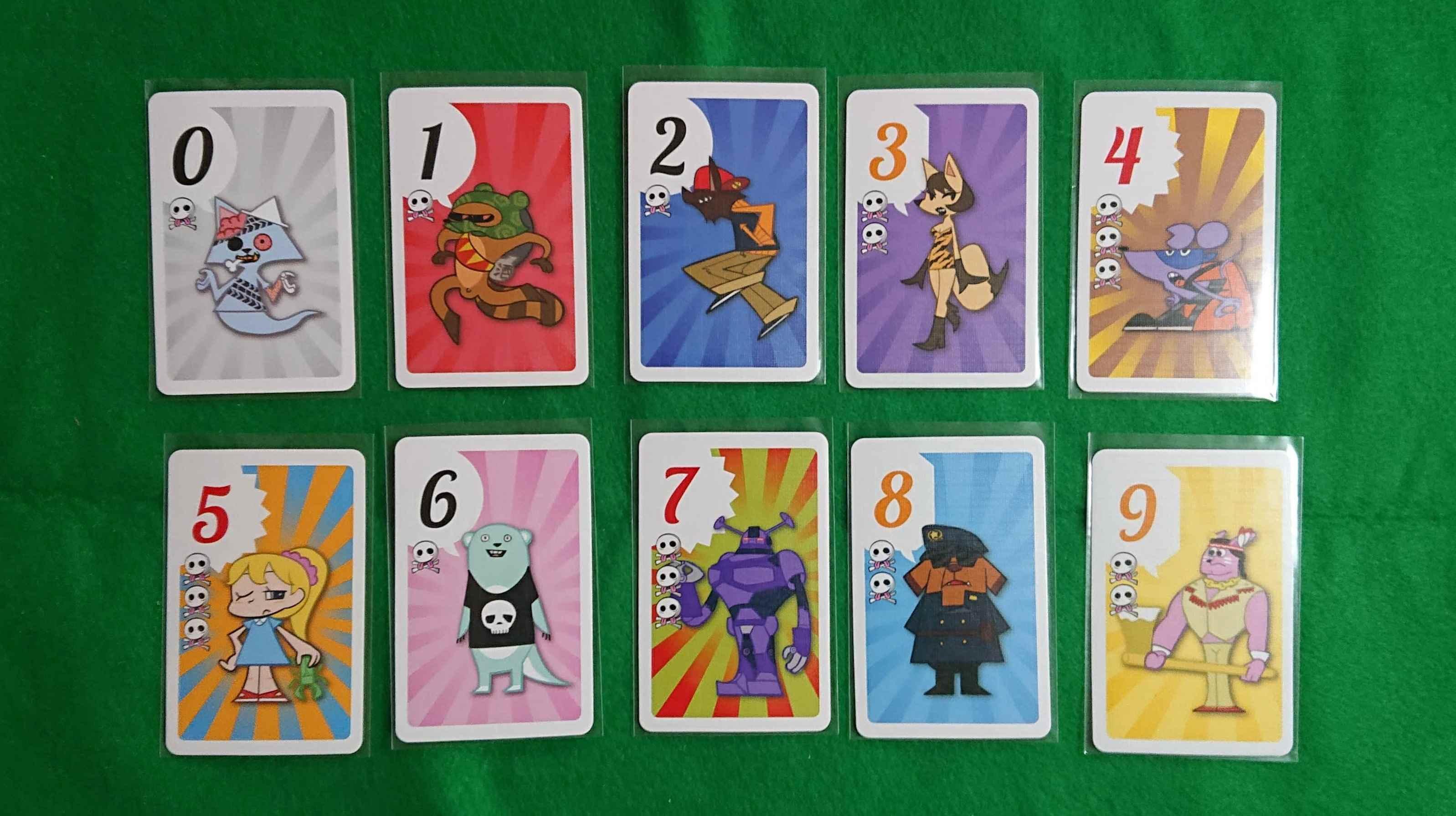 ファブフィブ(FAB FIB) ブラフ系カードゲーム 「987」本当ですか??? ボードゲーム ルール説明