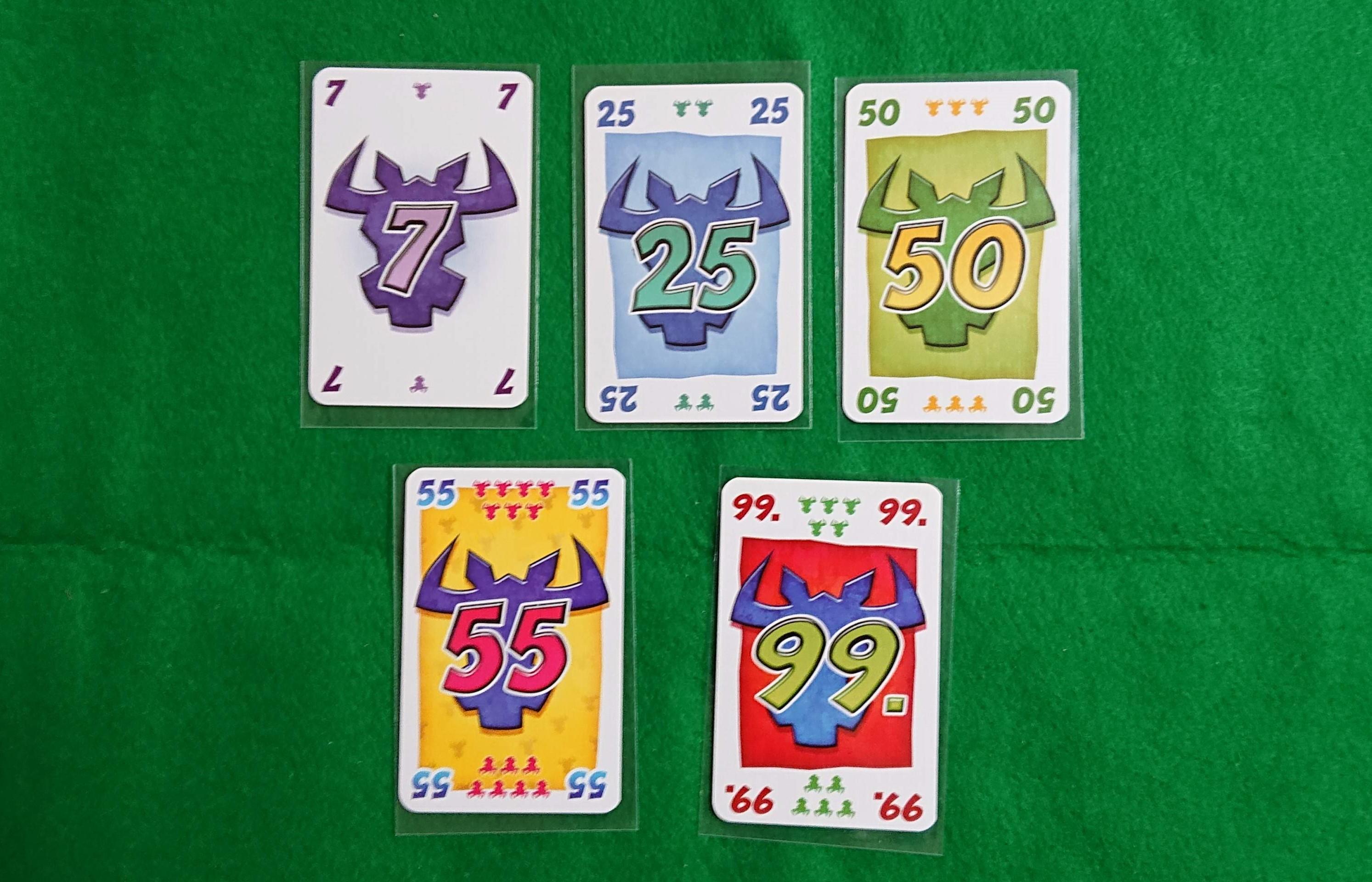 ニムト 有名カードゲーム 牛を他人に押し付けろ! ルール説明 ボードゲーム