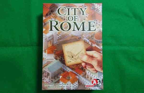 CITY OF ROMEの箱の写真