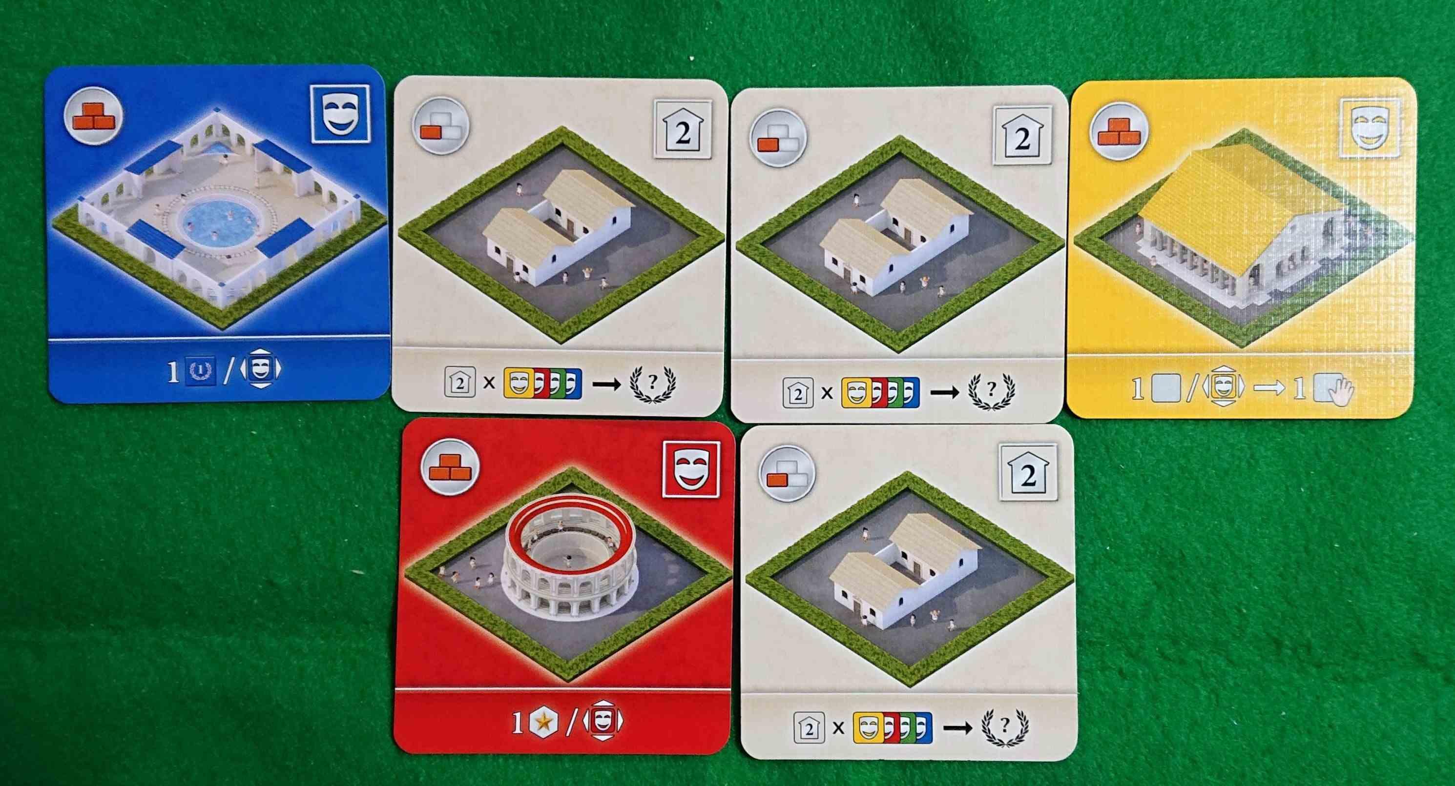 CITY OF ROME(シティオブローマ)前編 「ゲーム概要」と「カード効果説明」です ボードゲーム