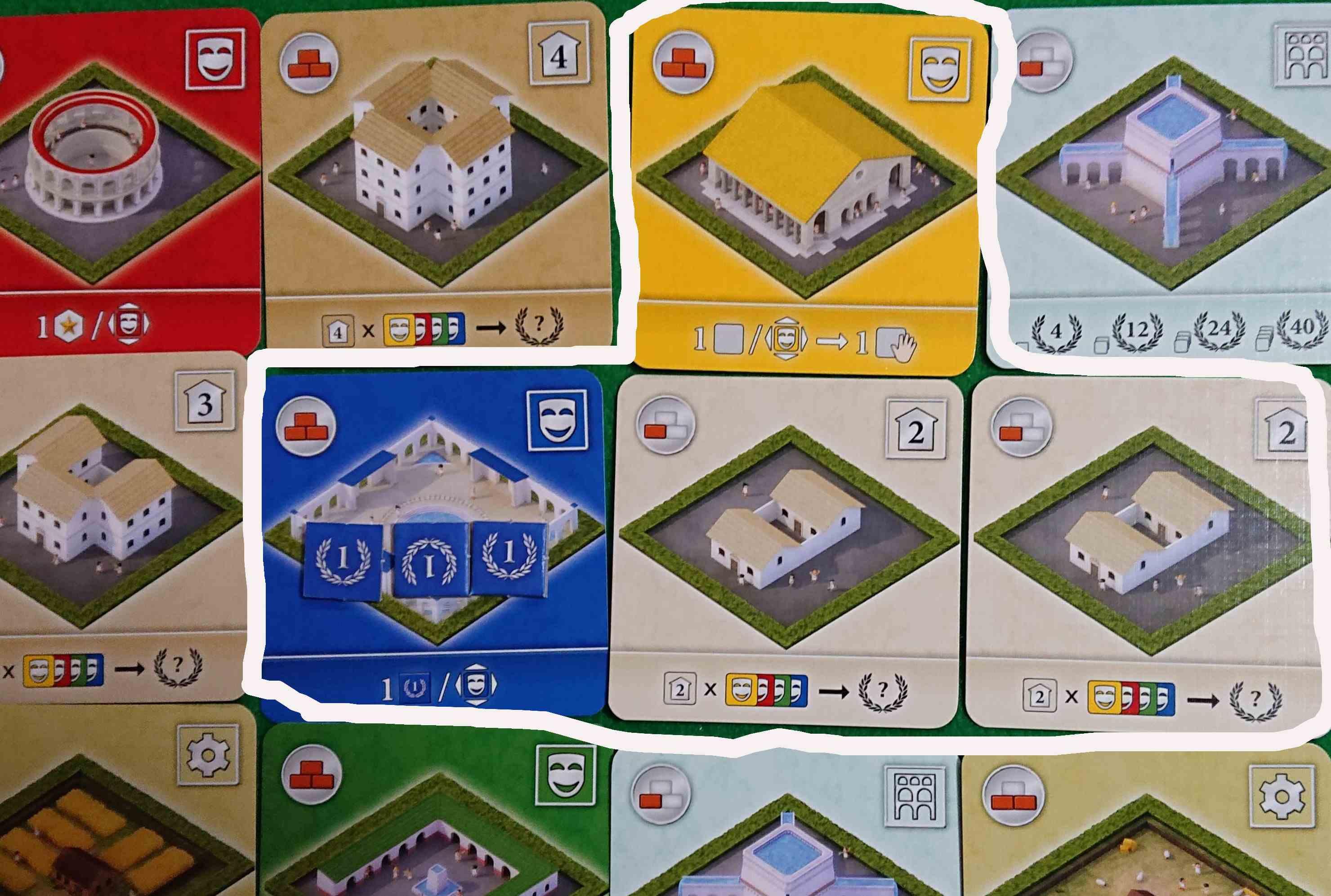 CITY OF ROME(シティオブローマ)後編 2018年スカウトアクション1位 ルール説明と感想 ボードゲーム