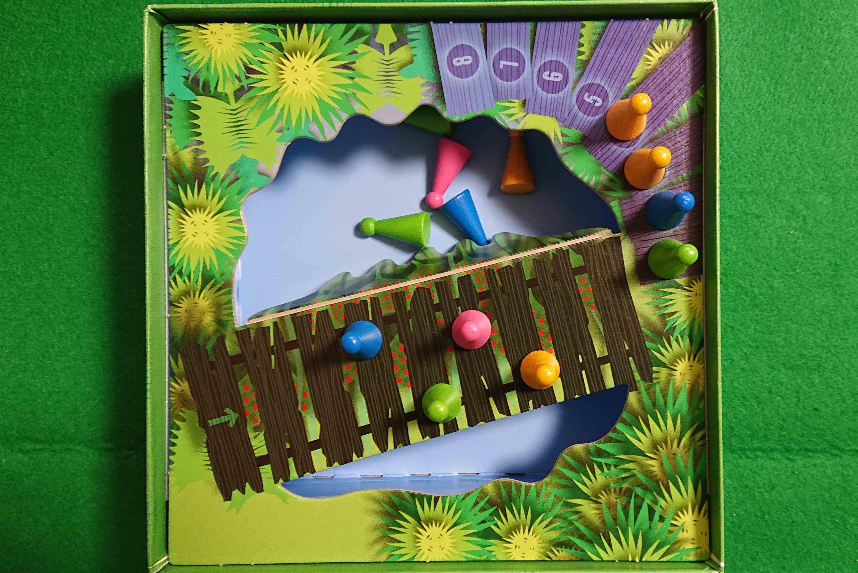 チャオチャオ ブラフを楽しむパーティゲーム アレックス・ランドルフの名作 ボードゲーム