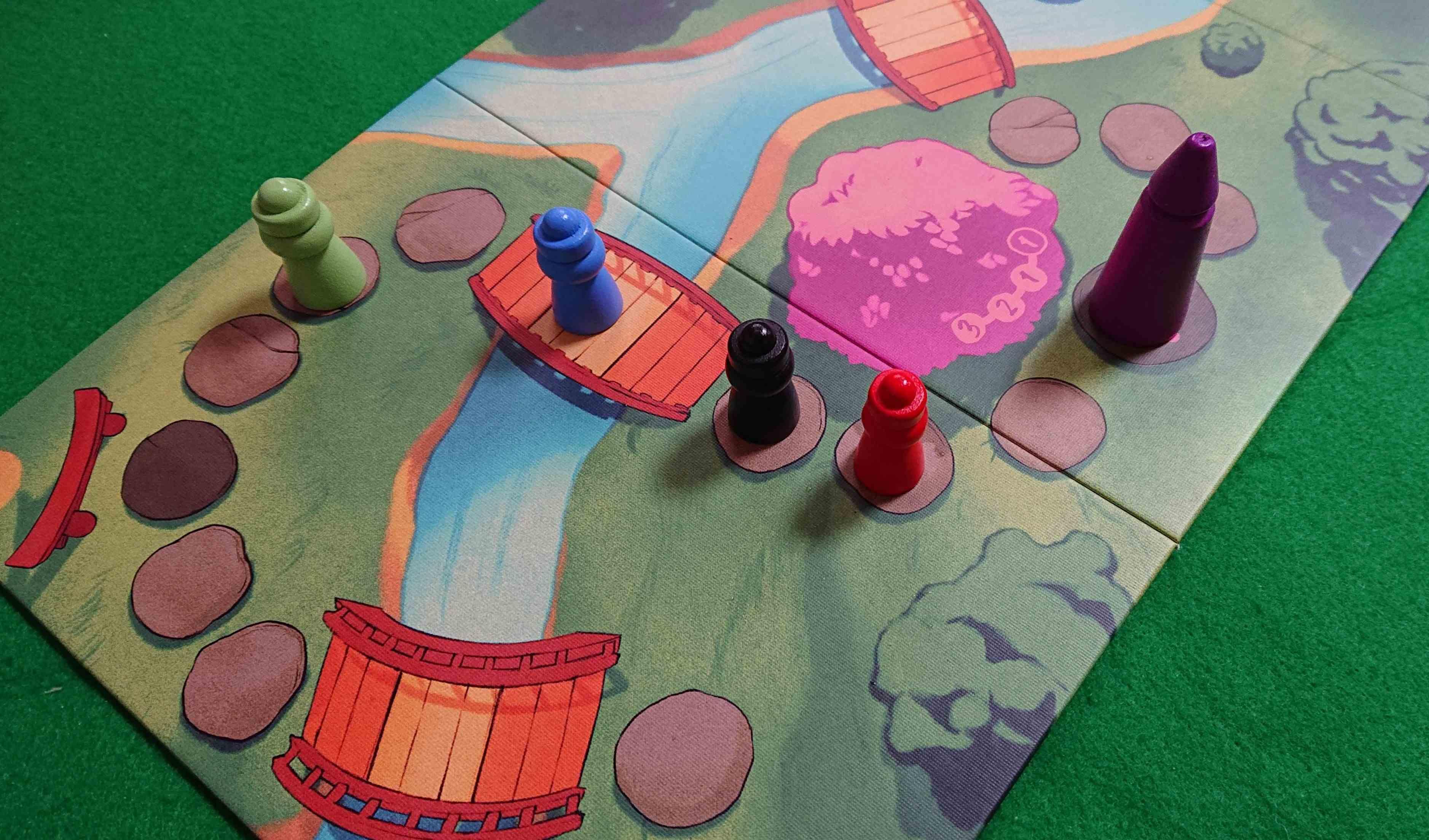 SAKURA できるだけ天子さまの近くに! ライナークニッチィア作品 ボードゲーム