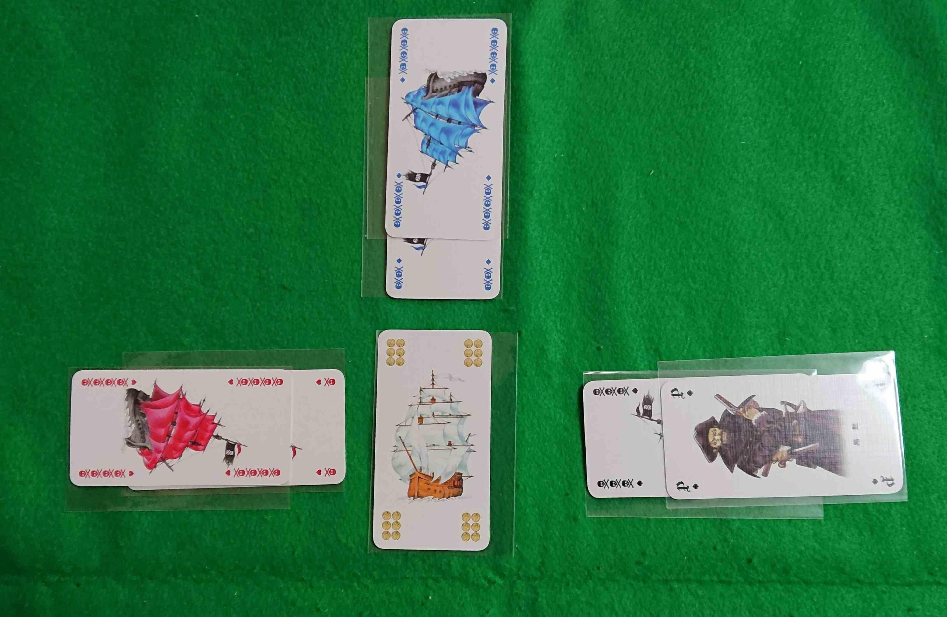 コルセア カードゲーム 商船を守る?!海賊として商船を襲う!? ボードゲーム