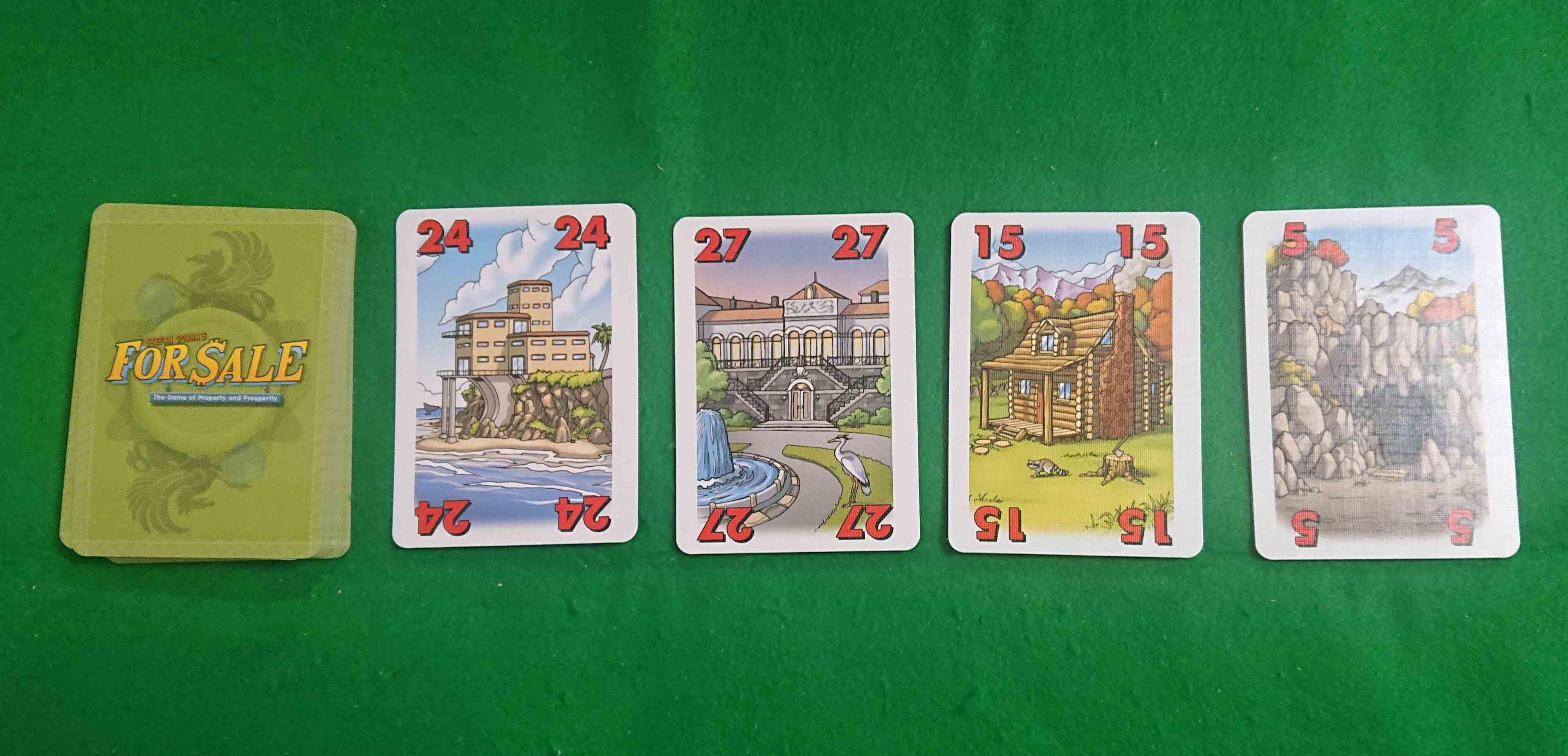 フォーセール 初心者に優しい軽い競り系カードゲーム ボードゲーム