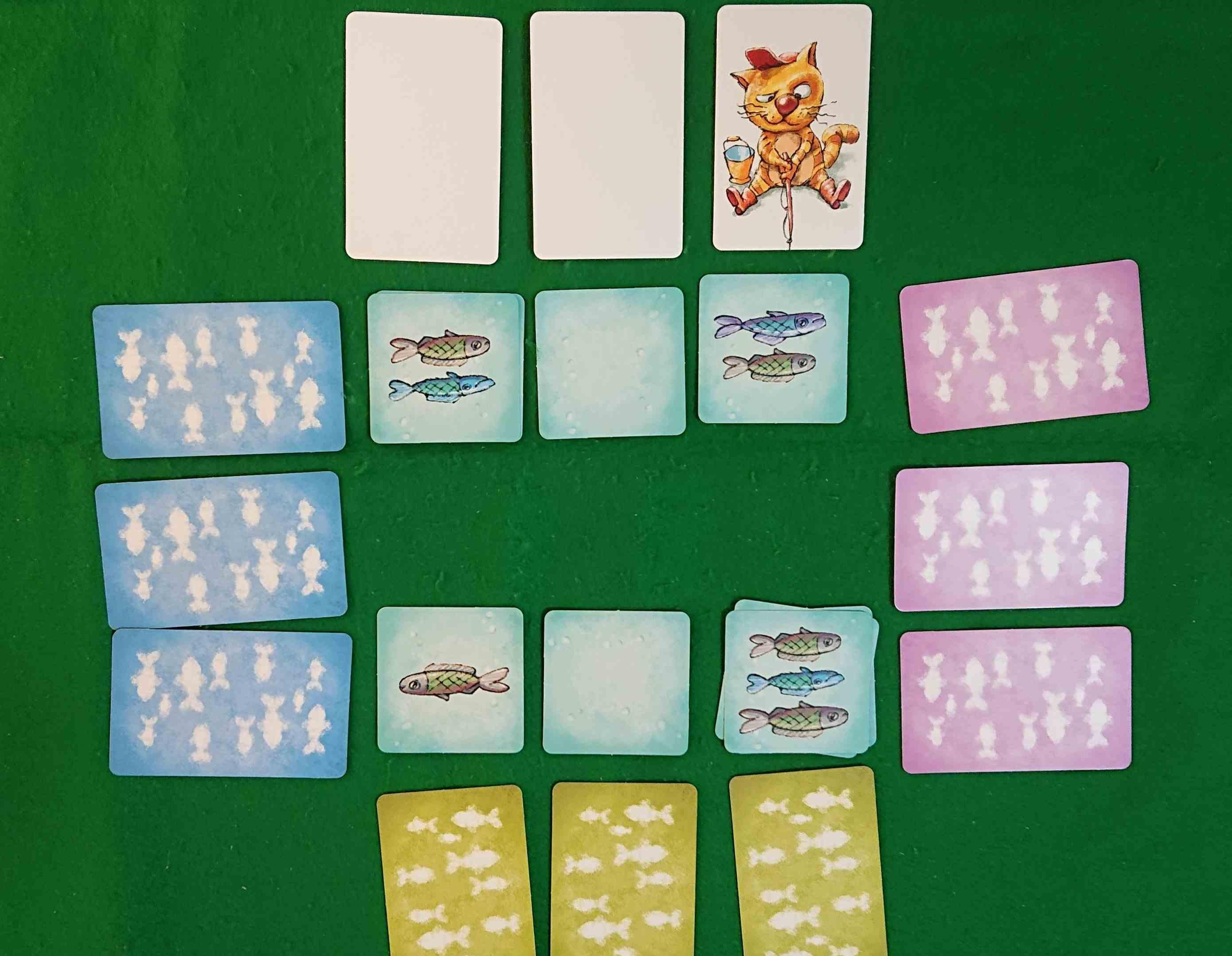 おさかなこいし 子どもと一緒に楽しめる カードゲーム ボードゲーム