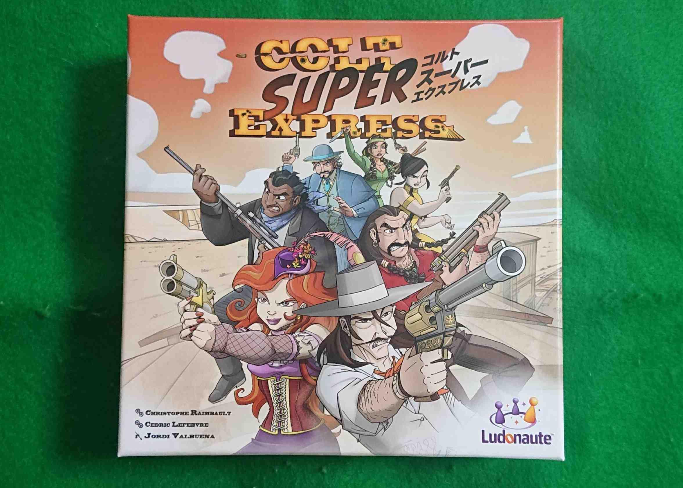 コルトスーパーエクスプレス ルール&レビュー 列車強盗で最後まで生き残るのは誰?! ボードゲーム
