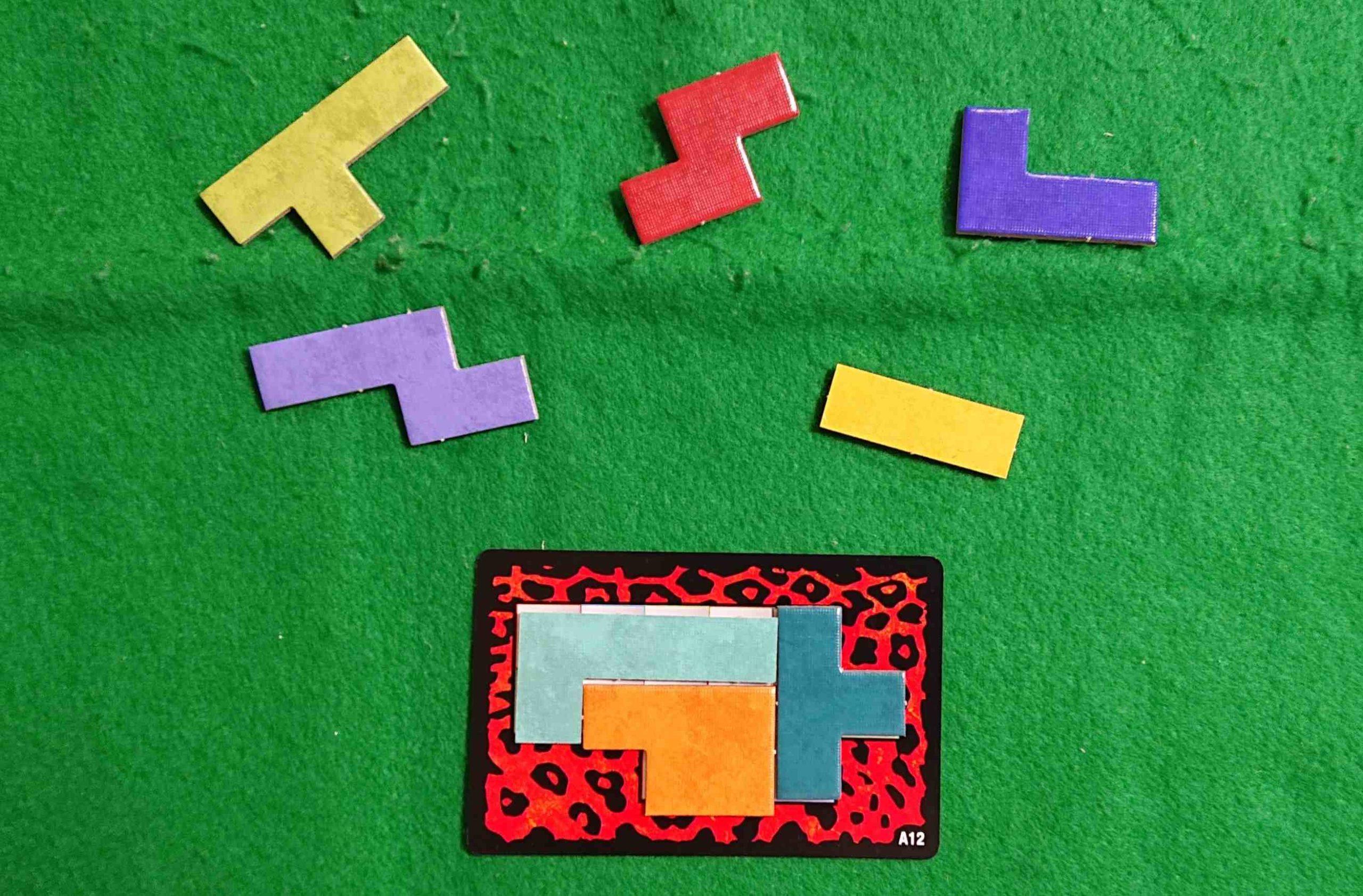 ウボンゴミニ(UBONGO) ルール&レビュー パズル&スピード系 ボードゲーム