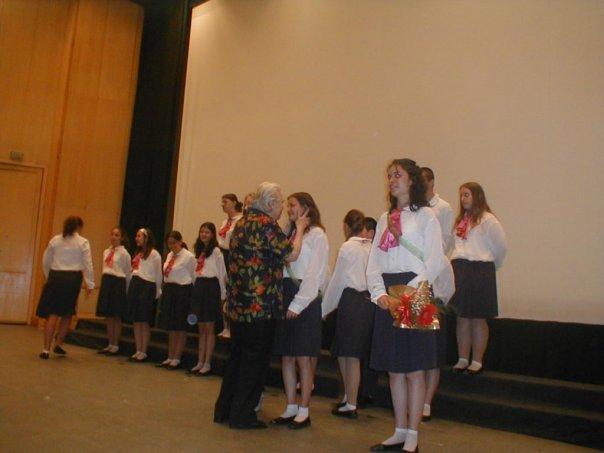Последният годишен акт концерт с диригент Лиляна Бочева (юни, 2005 г., НСК, зала 11)