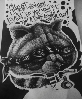 dessin-monkey-raton-laveur
