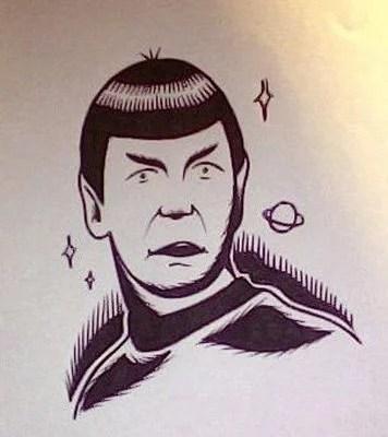 dessin-kim-spock-flash-noir-et-blanc
