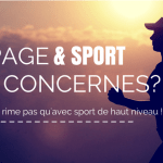 Dopage ne rime pas qu'avec sport de haut niveau !