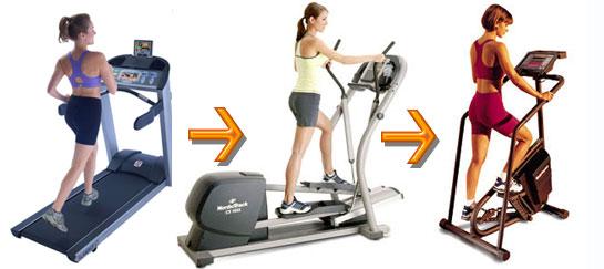 common cardio exercise workout mistakes on machines