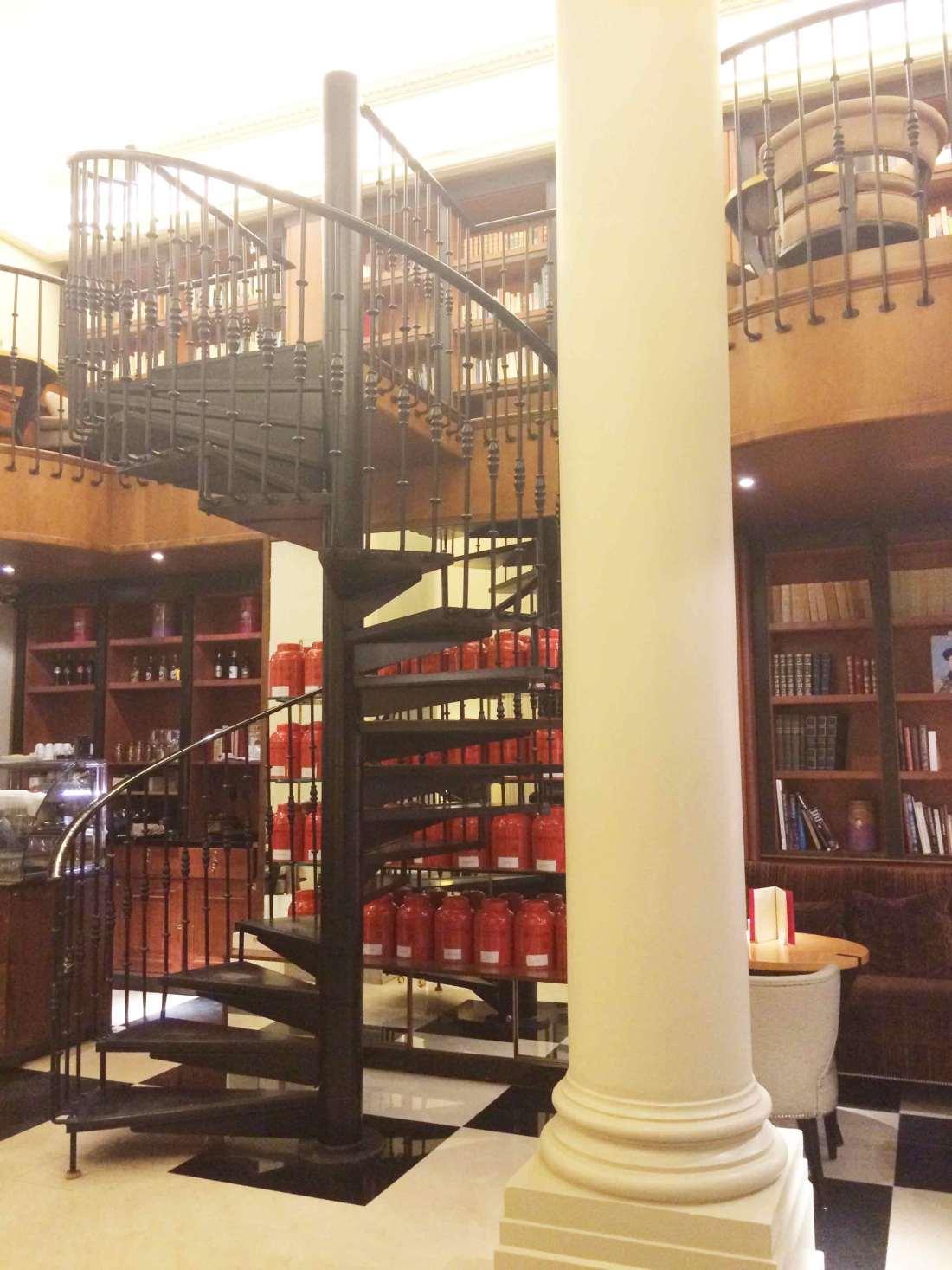 Maison du thé de l'hôtel Scribe