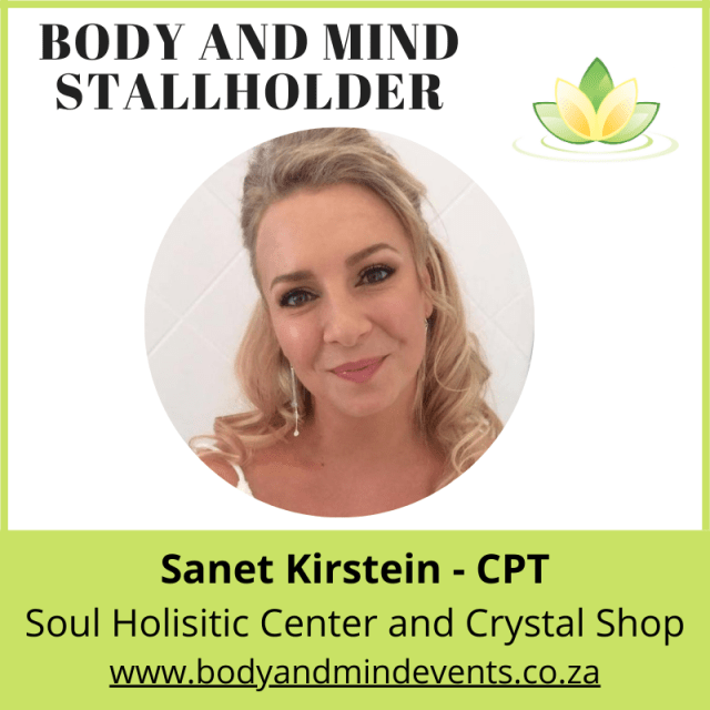 Sanet Kirstein – Soul Holisitic Center and Crystal Shop