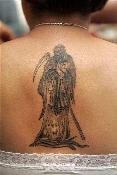 Santa Muerte Tattoo | Body Art Diary