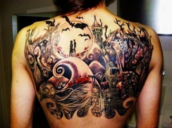 psychedelic-halloween-tattoo