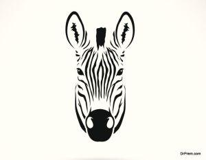 Fun Designs of Zebra Tattoos