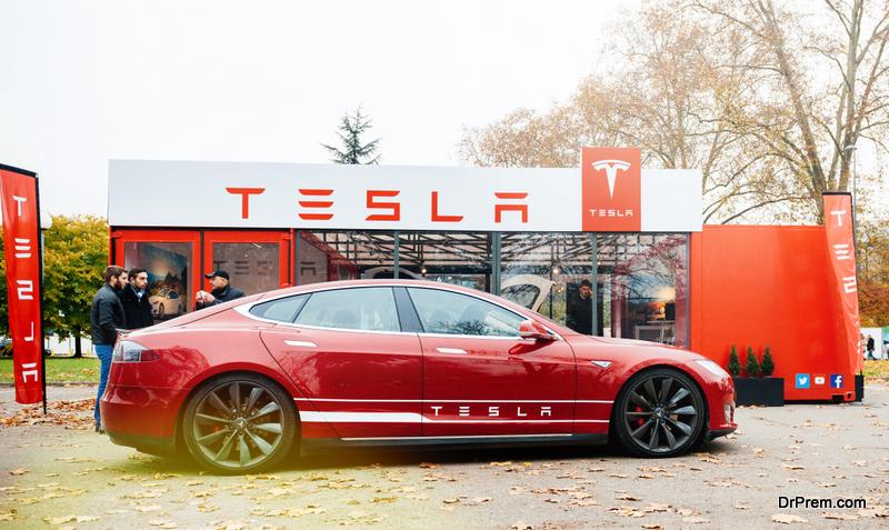 Tesla-vehicle