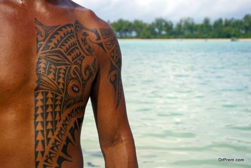 Tattoos are symbolic