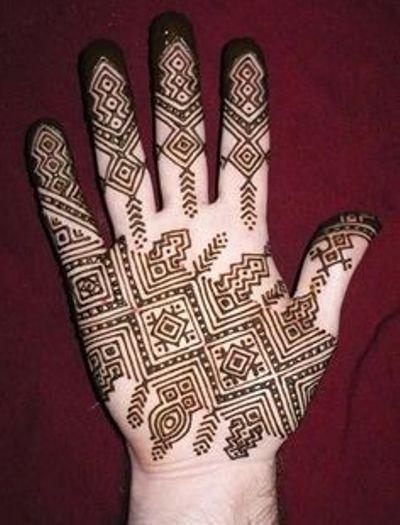 Finger Mehndi Designs 2017 New Style