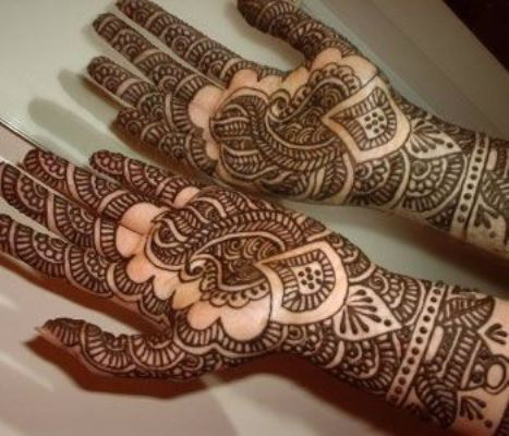Indian Mehandi Design Photos Simple