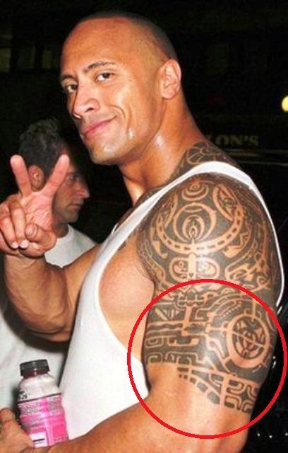 Dwayne Johnson Tattoo
