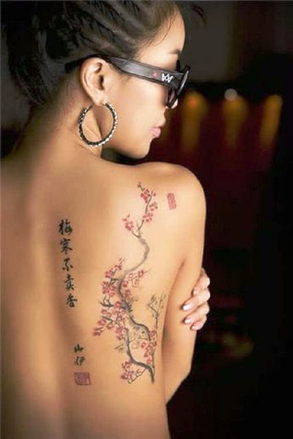 Tattooed Asian Women : tattooed, asian, women, Amazing, Chinese, Tattoo, Designs, Meanings