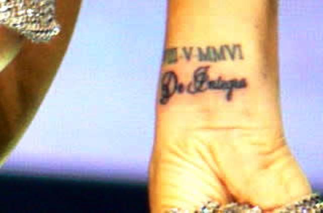 Victoria Beckhams 5 Tattoos  Their Meanings  Body Art Guru