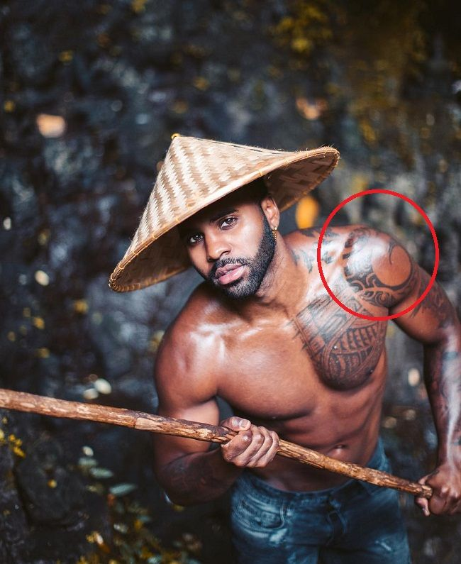 Warrior Symbol Tattoos : warrior, symbol, tattoos, Jason, Derulo's, Tattoos, Their, Meanings