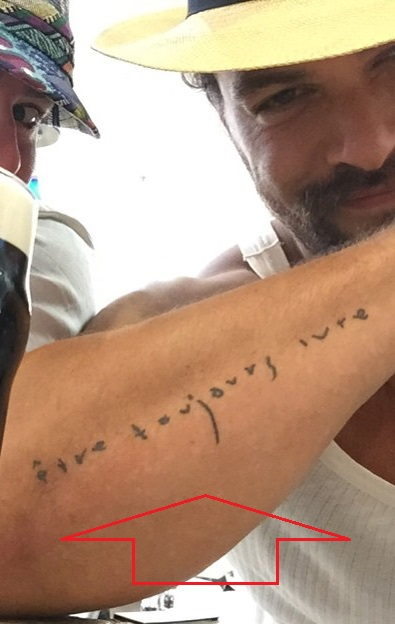 Jason Momoa Arm Tattoo : jason, momoa, tattoo, Jason, Momoa's, Tattoos, Their, Meanings