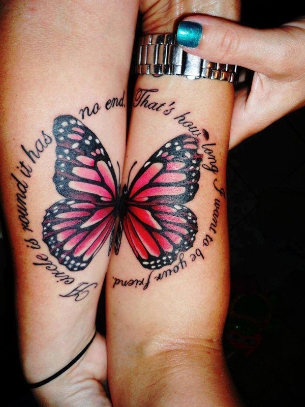 Mother Daughter Butterfly Tattoo : mother, daughter, butterfly, tattoo, Meaningful, Mother-Daughter, Tattoo, Ideas
