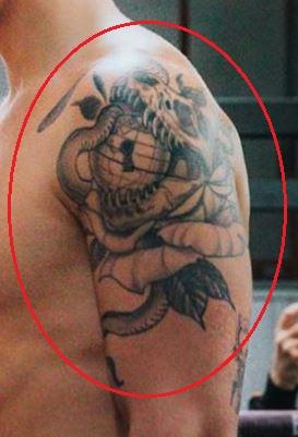 Jake Paul Back Tattoo : tattoo, Paul's, Tattoos, Their, Meanings