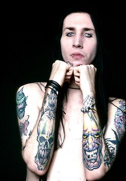 Marilyn Manson Tattoo : marilyn, manson, tattoo, Marilyn, Manson's, Tattoos, Their, Meanings