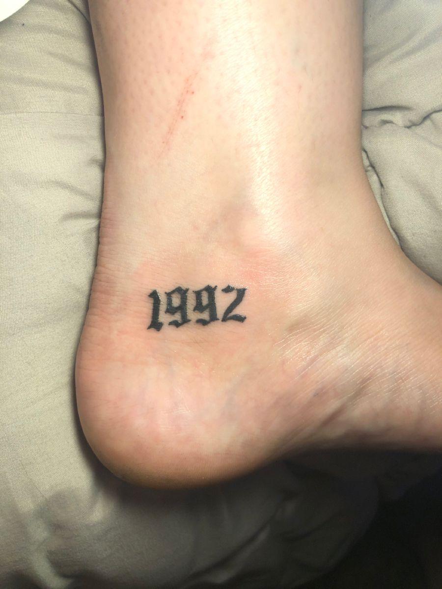 """1992 Tattoo : tattoo, Amazing, """"1992"""", Tattoo, Designs"""