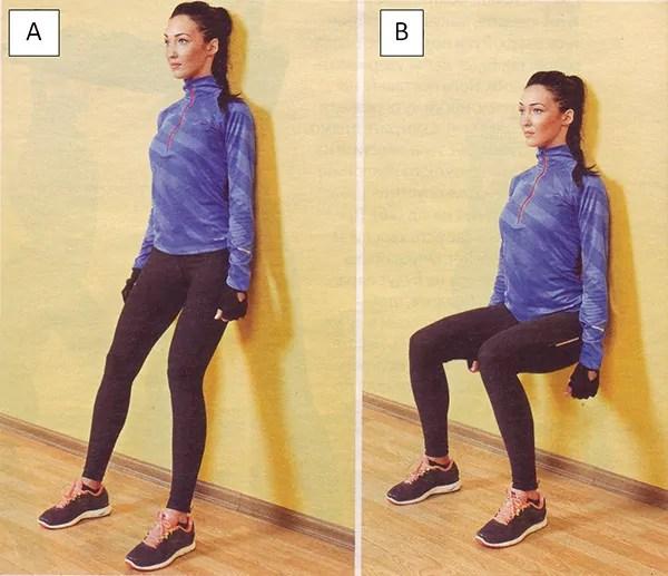 Как правильно делать упражнение стульчик