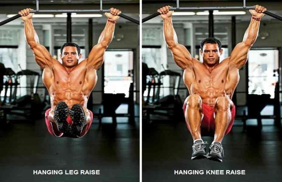 Hanging Leg Raise  Bodybuilding Wizard
