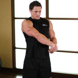 Side Wrist Pull  Exercise Videos & Guides Bodybuildingcom