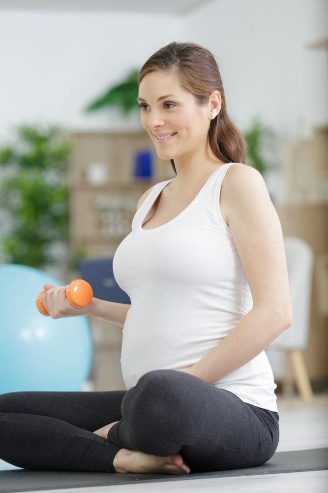 تمارين رياضية للحامل لتخفيف الوزن