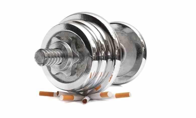 smoking damage to bodybuilders