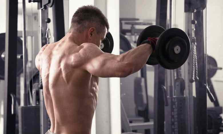 تقوية عضلات الكتف للمبتدئين