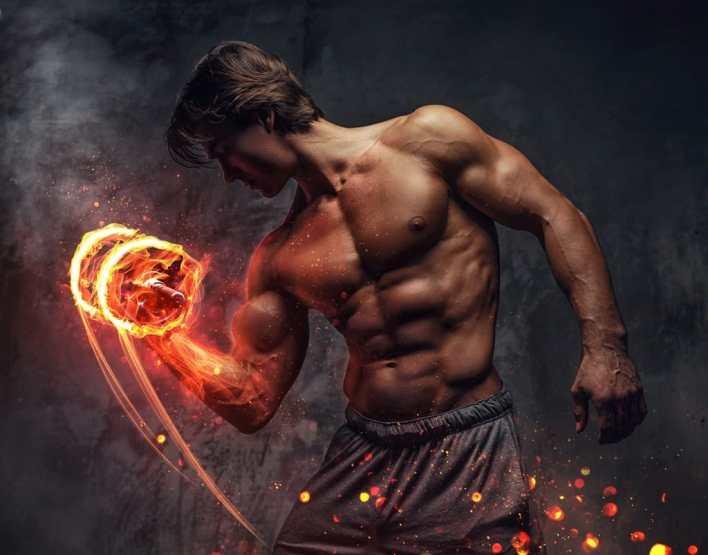 زيادة قوة العضلات