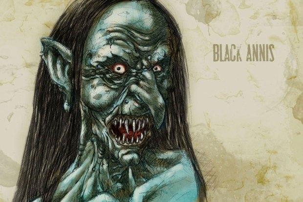 Чудовище-людоед Чёрная Аннис. Рисунок Франсиско Варгаса (Francisco Vargas)