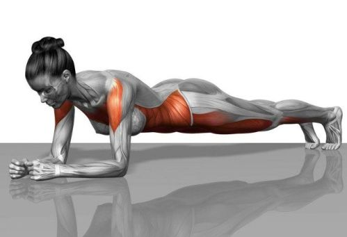 plank for lose thigh fat
