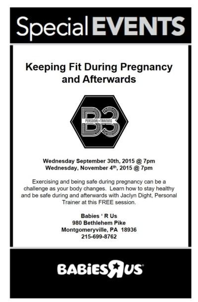 B3 Prenatal-Babies R Us Seminar 2015