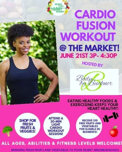 Fitness Fridays At Veggie City