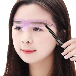 8 in1 Eyebrow Shaping Template